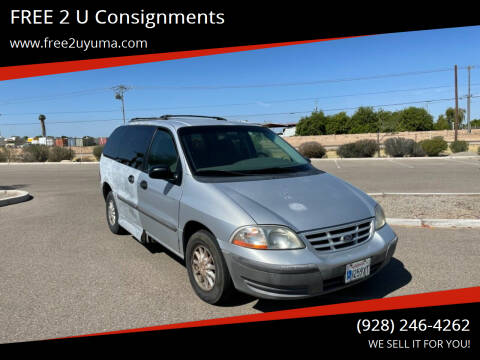 1999 Ford Windstar for sale at FREE 2 U Consignments in Yuma AZ