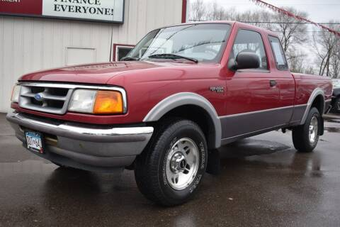 1995 Ford Ranger for sale at Dealswithwheels in Inver Grove Heights MN