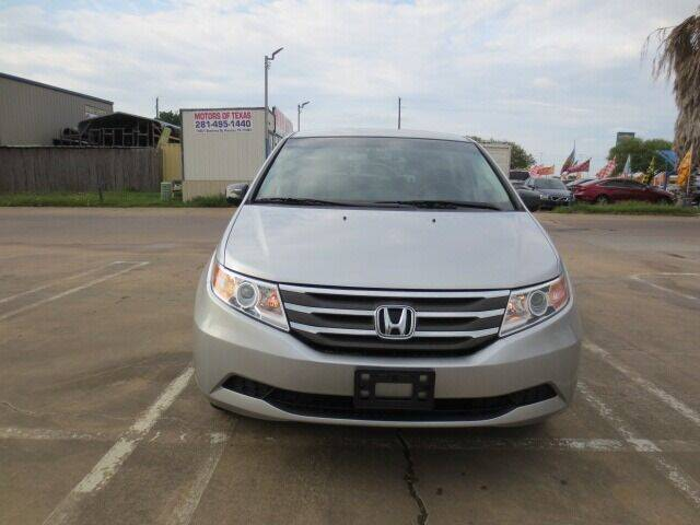2012 Honda Odyssey for sale at MOTORS OF TEXAS in Houston TX