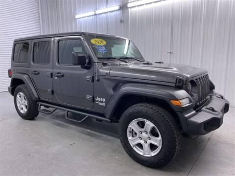 2020 Jeep Wrangler Unlimited for sale at JOE BULLARD USED CARS in Mobile AL