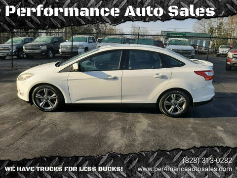 2014 Ford Focus for sale at Performance Auto Sales in Hickory NC