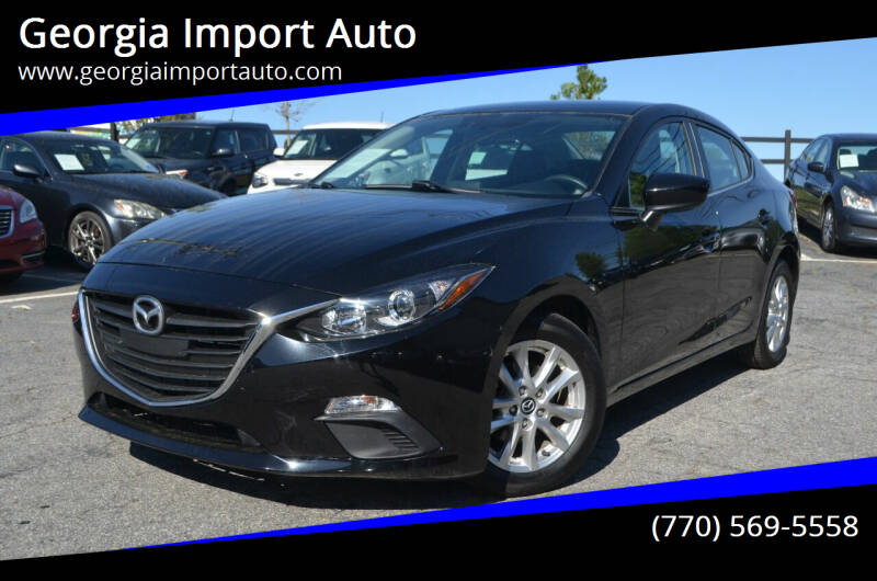 2016 Mazda MAZDA3 for sale at Georgia Import Auto in Alpharetta GA