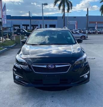 2019 Subaru Impreza for sale at Navarro Auto Motors in Hialeah FL