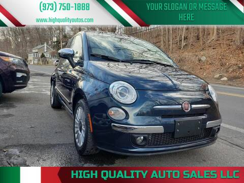 2013 FIAT 500c for sale at High Quality Auto Sales LLC in Bloomingdale NJ