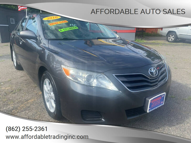 2010 Toyota Camry for sale at Affordable Auto Sales in Irvington NJ