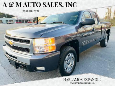 2010 Chevrolet Silverado 1500 for sale at A & M Auto Sales, Inc in Alabaster AL