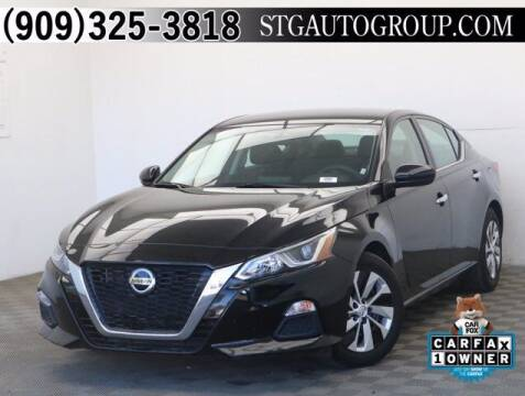 2019 Nissan Altima for sale at STG Auto Group in Montclair CA