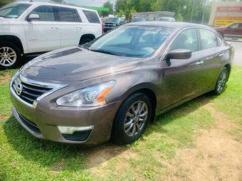 2015 Nissan Altima for sale at BRYANT AUTO SALES in Bryant AR
