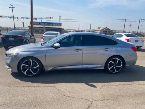 2018 Honda Accord for sale at First Choice Auto Sales in Bakersfield CA
