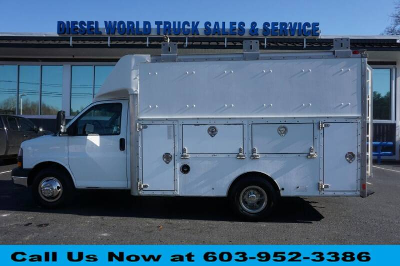 2008 GMC Savana Cutaway for sale at Diesel World Truck Sales in Plaistow NH