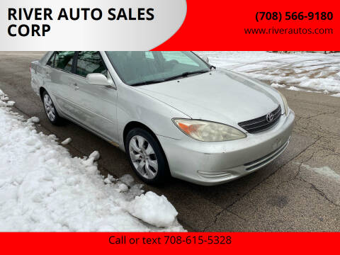 2003 Toyota Camry for sale at RIVER AUTO SALES CORP in Maywood IL