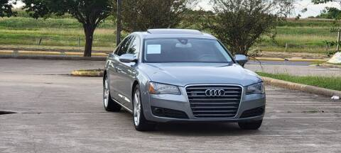 2011 Audi A8 L for sale at America's Auto Financial in Houston TX