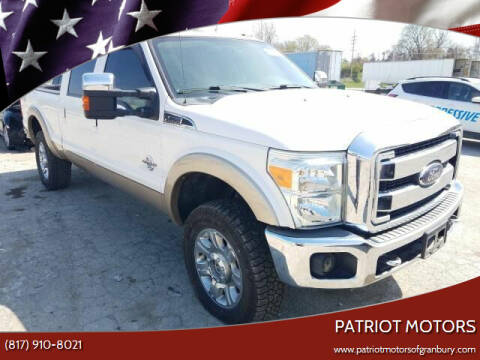 2012 Ford F-250 Super Duty for sale at Patriot Motors in Granbury TX