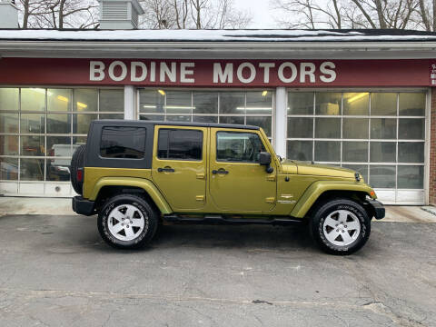 2007 Jeep Wrangler Unlimited for sale at BODINE MOTORS in Waverly NY