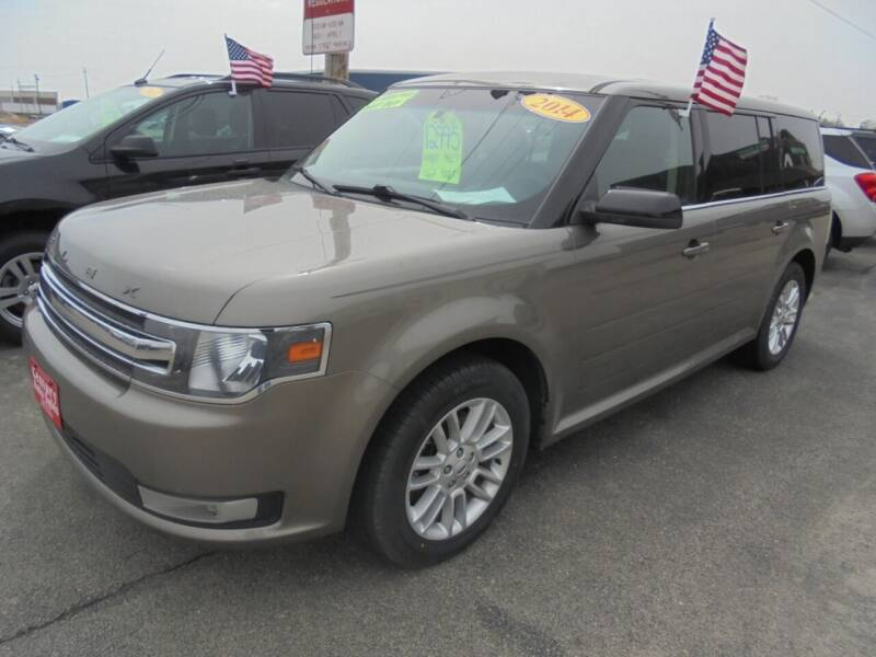 2014 Ford Flex for sale at Century Auto Sales LLC in Appleton WI