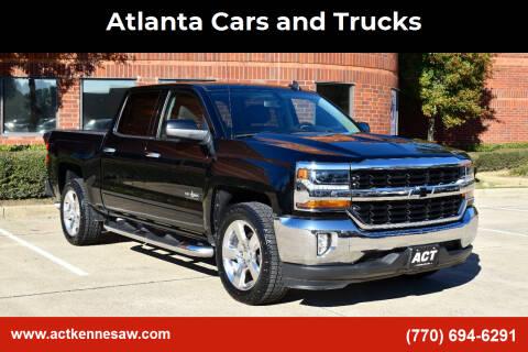 2016 Chevrolet Silverado 1500 for sale at Atlanta Cars and Trucks in Kennesaw GA