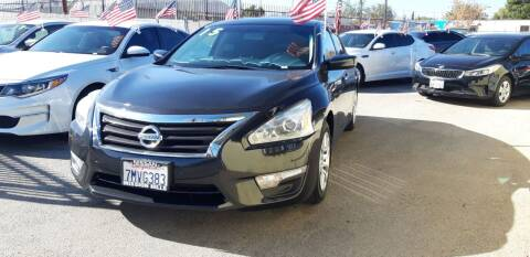 2015 Nissan Altima for sale at Autosales Kingdom in Lancaster CA