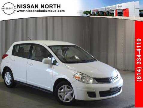 2012 Nissan Versa for sale at Auto Center of Columbus in Columbus OH