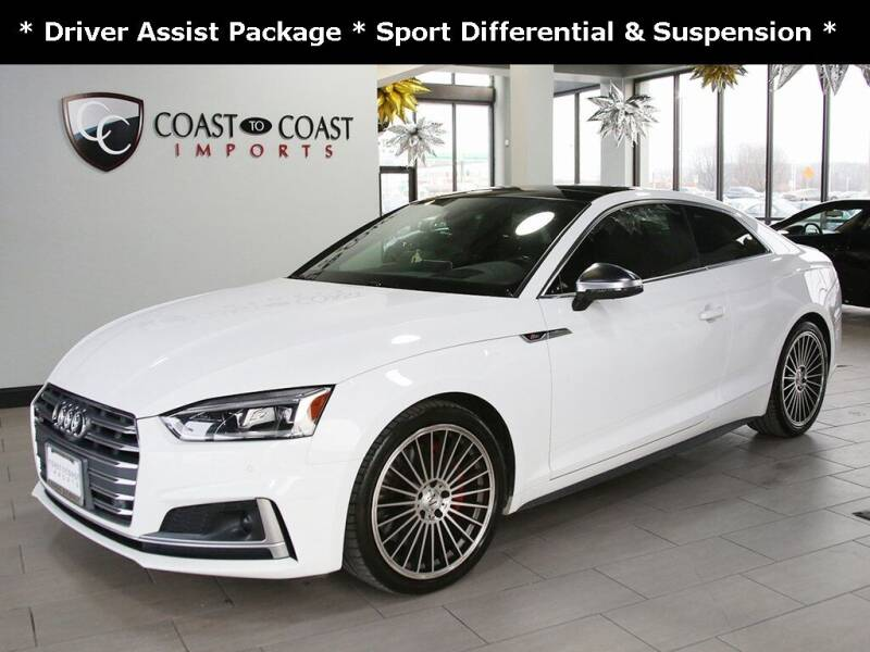 2018 Audi S5 for sale at Coast to Coast Imports in Fishers IN