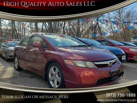 2007 Honda Civic for sale at High Quality Auto Sales LLC in Bloomingdale NJ