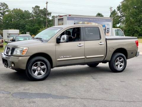 2006 Nissan Titan for sale at XCELERATION AUTO SALES in Chester VA