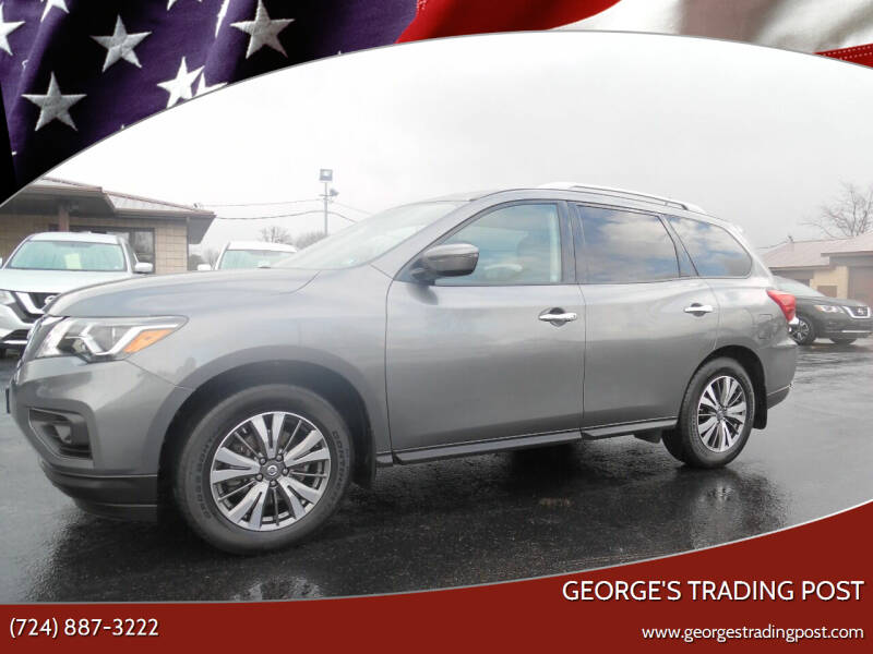 2017 Nissan Pathfinder for sale at GEORGE'S TRADING POST in Scottdale PA