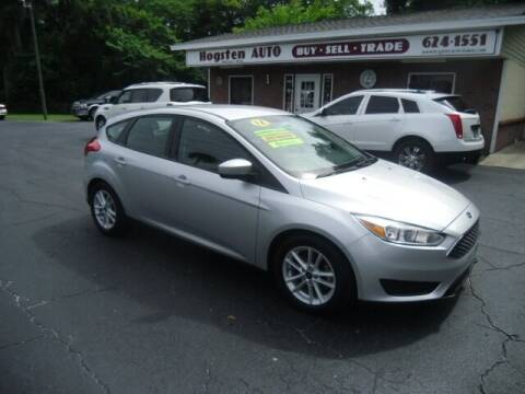 2018 Ford Focus for sale at HOGSTEN AUTO WHOLESALE in Ocala FL