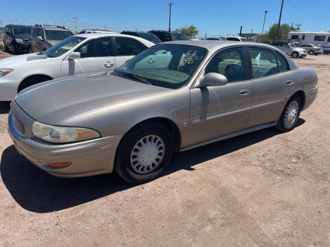 2002 Buick LeSabre for sale at PYRAMID MOTORS - Fountain Lot in Fountain CO
