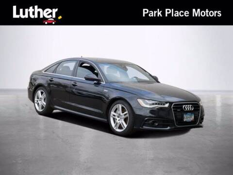 2015 Audi A6 for sale at Park Place Motor Cars in Rochester MN