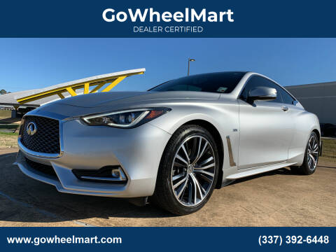 2018 Infiniti Q60 for sale at GoWheelMart in Leesville LA
