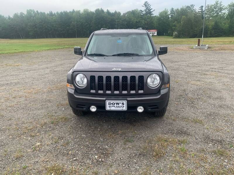 2015 Jeep Patriot for sale at DOW'S AUTO SALES in Palmyra ME