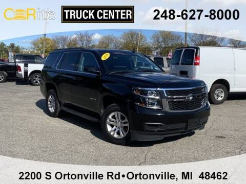 2019 Chevrolet Tahoe for sale at Carite Truck Center in Ortonville MI