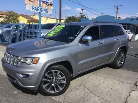 2017 Jeep Grand Cherokee for sale at LA PLAYITA AUTO SALES INC in South Gate CA