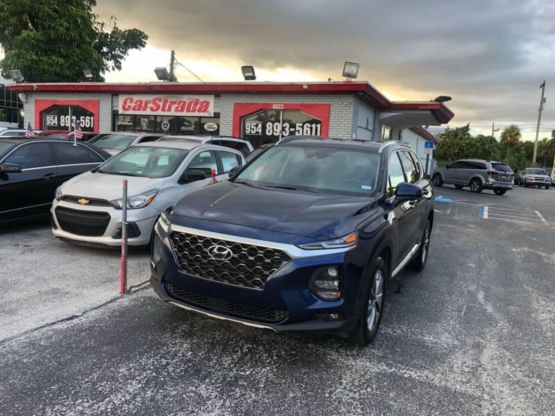 2020 Hyundai Santa Fe for sale at CARSTRADA in Hollywood FL