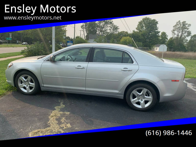 2012 Chevrolet Malibu for sale at Ensley Motors in Allendale MI