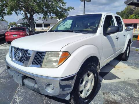 2005 Nissan Frontier for sale at Celebrity Auto Sales in Port Saint Lucie FL