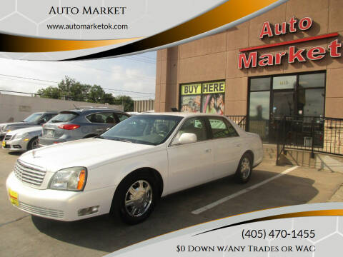 2004 Cadillac DeVille for sale at Auto Market in Oklahoma City OK