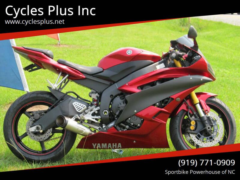 2007 Yamaha YZF-R6 for sale in Garner, NC