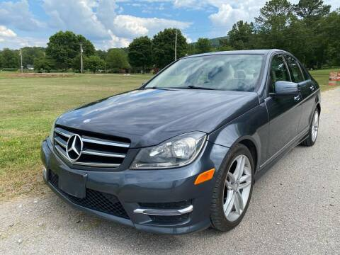 2014 Mercedes-Benz C-Class for sale at Tennessee Valley Wholesale Autos LLC in Huntsville AL