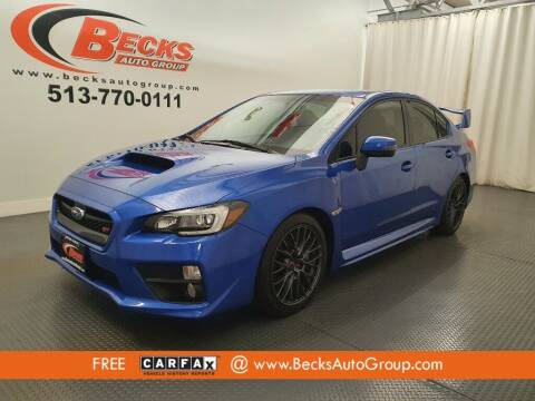 2017 Subaru WRX for sale at Becks Auto Group in Mason OH