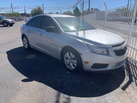 2013 Chevrolet Cruze for sale at Robert B Gibson Auto Sales INC in Albuquerque NM