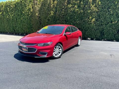 2016 Chevrolet Malibu for sale at Yaktown Motors in Union Gap WA