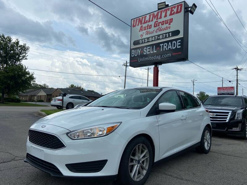 2018 Ford Focus for sale at Unlimited Auto Group in West Chester OH