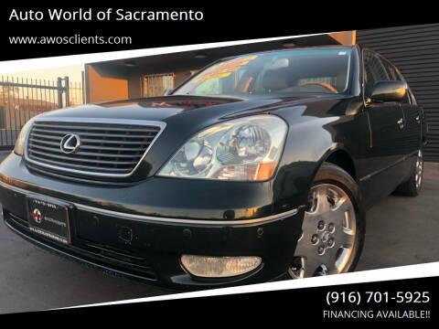 2003 Lexus LS 430 for sale at Auto World of Sacramento Stockton Blvd in Sacramento CA