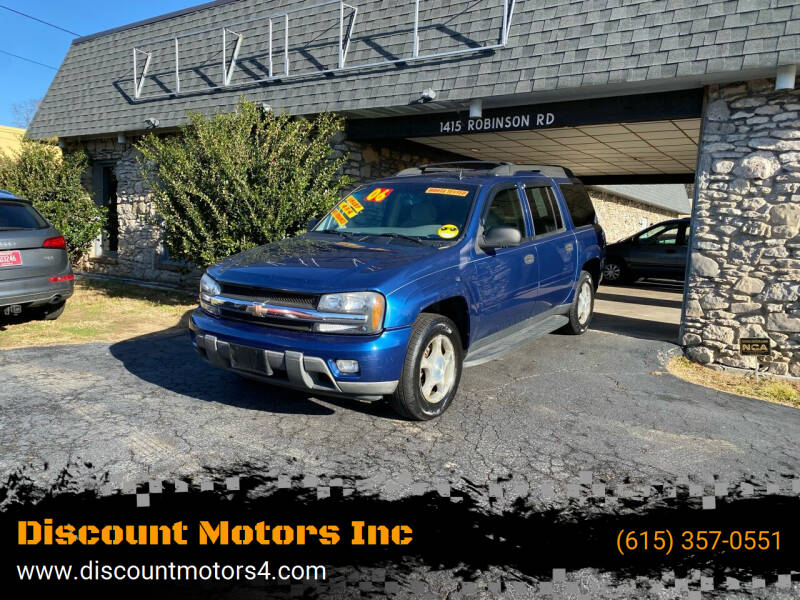 2006 Chevrolet TrailBlazer EXT for sale at Discount Motors Inc in Old Hickory TN