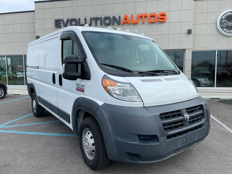 2015 RAM ProMaster Cargo for sale at Evolution Autos in Whiteland IN