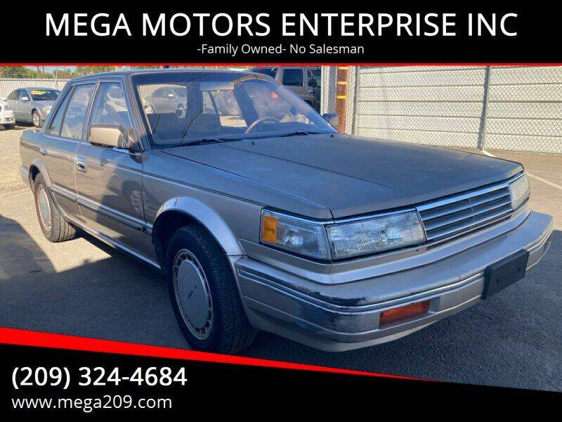 1987 Nissan Maxima for sale at MEGA MOTORS ENTERPRISE INC in Modesto CA