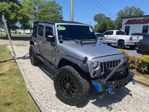 2014 Jeep Wrangler Unlimited for sale at Beach Auto Brokers in Norfolk VA