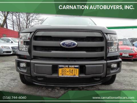 2015 Ford F-150 for sale at CarNation AUTOBUYERS, Inc. in Rockville Centre NY