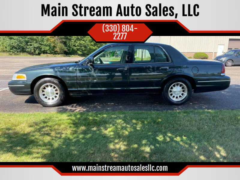 1999 Ford Crown Victoria for sale at Main Stream Auto Sales, LLC in Wooster OH